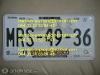 Foto Seguridad en tramite de placas DF, Jalisco y...