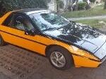Foto Pontiac Modelo Fiero año 1984 en Xochimilco...