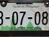 Foto Placas De Taxi Df