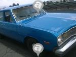 Foto Dodge Dart azul 4 puertas -74