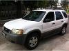 Foto Vendo camioneta ford escape 2002 blanca exclu