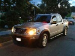 Foto Camioneta ford pick up explorer sport track -08