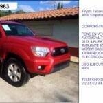 Foto Toyota tacoma 2013 120,000mxn empresa remata...