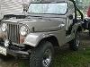 Foto Jeep Willys 4 x 4 1956