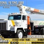 Foto Grua Titan 19 Tons Camion International 1988...