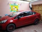 Foto Vendo auto kia rio 2014 rojo