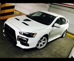 Foto Mitsubishi lancer evolution 2014