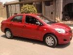 Foto Se renta vehículo yaris rojo2008 para taxi en...