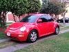 Foto Vw New Beetle Rojo