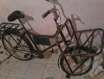Foto Bicicleta De Carga Usada