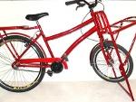 Foto Bicicleta Carga, Transporte, Cubo Contra Pedal...