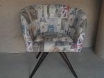 Foto Cadeira, poltrona Decorativa Para Escritorio,...