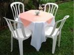 Foto Locações de cadeiras e mesas