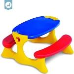 Foto Brinquedo Mesa Recreio Infantil Playground...