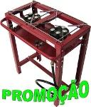 Foto Fogão 2bja Semi-industrial 2 Bocas Com Pé 5caolin