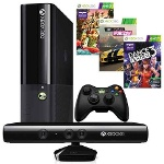 Foto Xbox 360 250gb Com Kinect + 3 Jogos, Harmonix