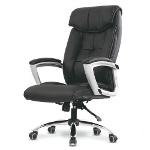 Foto Cadeira Escritorio Presidente Em Couro P. U...