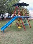 Foto Brinquedo Casa De Tarzan Parquinho Playground
