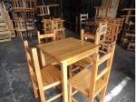 Foto Jogo de mesa de madeira nova direto da fabrica