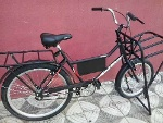 Foto Bicicleta De Carga - Freio V Break