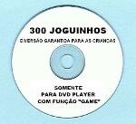 Foto Cd 300 Jogos P/ Dvd Britânia, philco, lenoxx,...