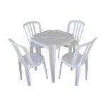 Foto Conjunto De Mesas E Cadeiras De Plástico Goyana...