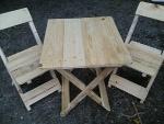Foto Conjuntos de mesa e cadeiras para...
