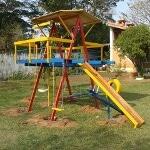 Foto Playground de Madeira - 13 brinquedos