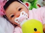 Foto Bebe Reborn Eduarda Pronta Entrega