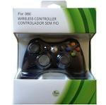 Foto Controle Joystick Xbox 360 Sem Fio + Kit...