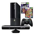 Foto Xbox 360 4gb +kinect +controle Original Sem Fio...