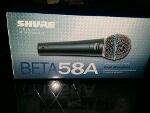 Foto Microfone shure beta 58a novo