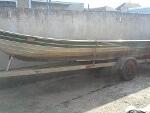 Foto Barco carreta e motor