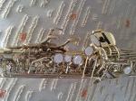 Foto Vendo Saxofone Soprano Eagle - Modelo SP 502 -...