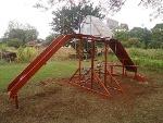Foto Playground Pica Pau Em Madeira Em Lei E Tubos