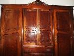 Foto Guarda roupa madeira 3 portas