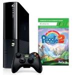 Foto Console Xbox 360 4gb + Controle Sem Fio + 1...