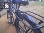 Foto Bicicleta de carga. Monark azul marinho