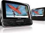 Foto DVD Portátil 2 Telas de 7 para Fixar no Banco...