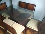 Foto Conjunto para Sala de Jantar com Mesa e 6 Cadeiras