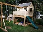 Foto Projeto Para Casinha De Madeira Para Crianças...