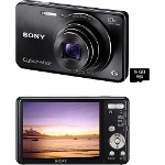 Foto Câmera Digital Sony Cyber Shot W690 16.1mp +...