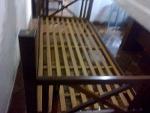 Foto Cama solteiro colchão cama de madeira cama em...