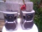Foto 2 caixas de som Gradiente