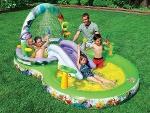 Foto Piscina Inflavel Infantil Playground Intex...