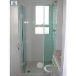 Foto Box Banheiro, Vidro Temperado 8mm, Incolor,...
