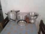 Foto Conjunto de Panelas para Cozinha Industrial