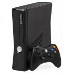 Foto Xbox 360 slim 4 gb rgh 1 controle, jogos
